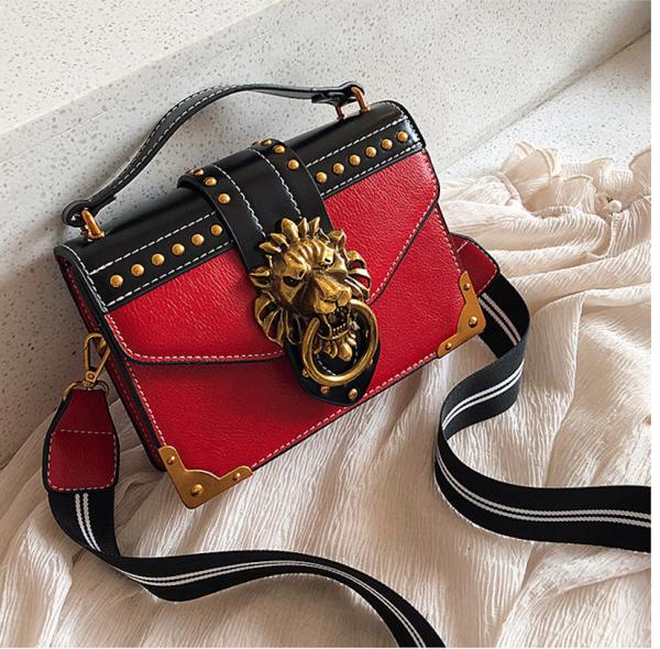 Luxury Lion Head Mini Shoulder Bag